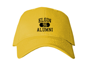 Elgin High School Embroidered Baseball Caps