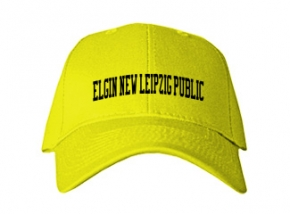 Elgin/new Leipzig Public School Kid Embroidered Baseball Caps