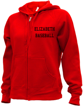 Elizabeth High School Zip-up Hoodies