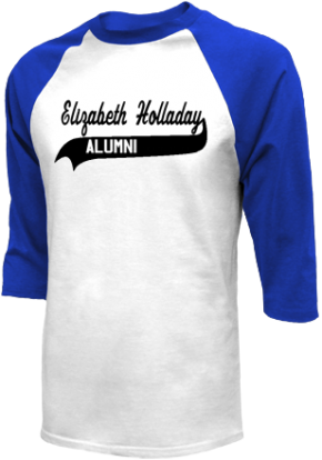 Elizabeth Holladay Elementary School Raglan Shirts