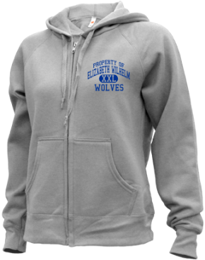 Elizabeth Wilhelm Elementary School Zip-up Hoodies