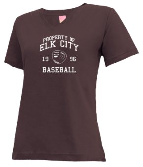 Elk City High School V-neck Shirts
