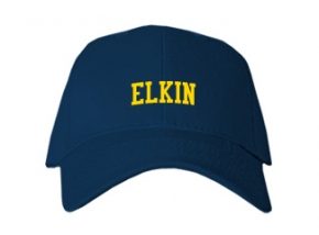 Elkin Middle School Kid Embroidered Baseball Caps