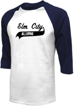 Elm City Elementary School Raglan Shirts