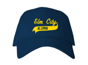 Elm City Middle School Embroidered Baseball Caps