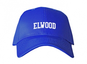 Elwood Middle School Kid Embroidered Baseball Caps