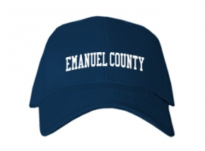 Emanuel County High School Kid Embroidered Baseball Caps