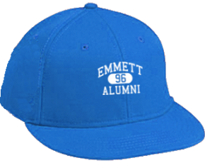 Emmett Junior High School Flat Visor Caps