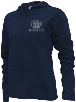 Empire Elementary School Girls Zipper Hoodies