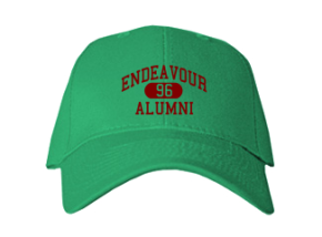 Endeavour Elementary School Embroidered Baseball Caps