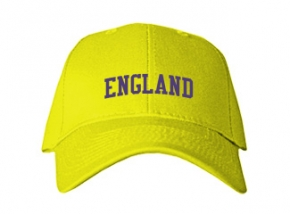 England Middle School Kid Embroidered Baseball Caps