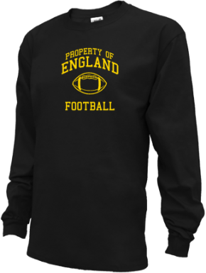 England Middle School Kid Long Sleeve Shirts