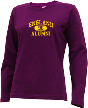 England Middle School Long Sleeve Shirts
