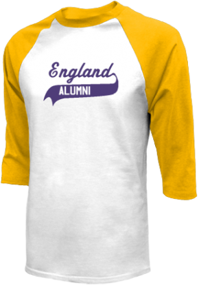England Middle School Raglan Shirts
