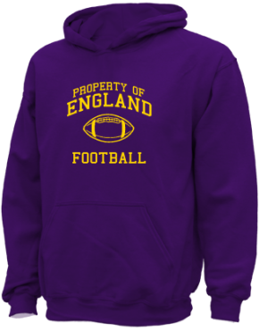 England Middle School Kid Hooded Sweatshirts