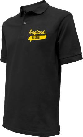 England Middle School Embroidered Polo Shirts