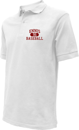 Ennis High School Embroidered Polo Shirts