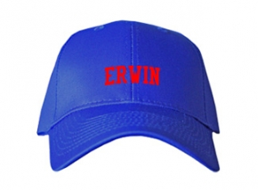 Erwin High School Kid Embroidered Baseball Caps