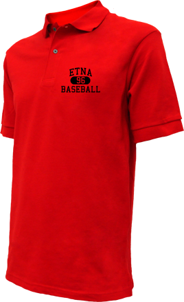 Etna High School Embroidered Polo Shirts