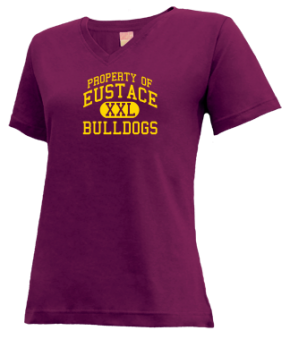 Eustace High School V-neck Shirts