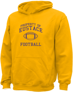 Eustace High School Kid Hooded Sweatshirts