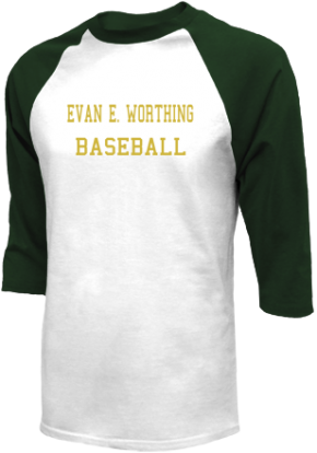 Evan E. Worthing High School Raglan Shirts