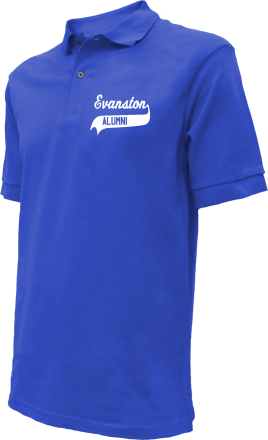 Evanston Middle School Embroidered Polo Shirts