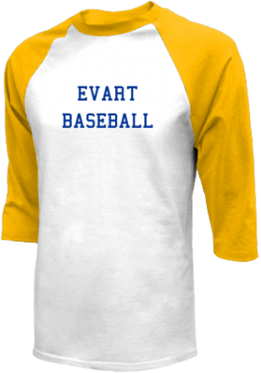 Evart High School Raglan Shirts