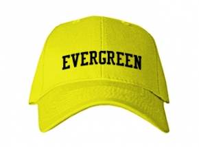 Evergreen Elementary School Kid Embroidered Baseball Caps