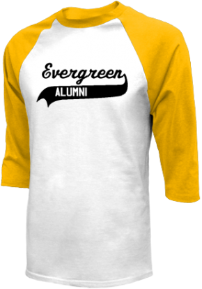 Evergreen Elementary School Raglan Shirts