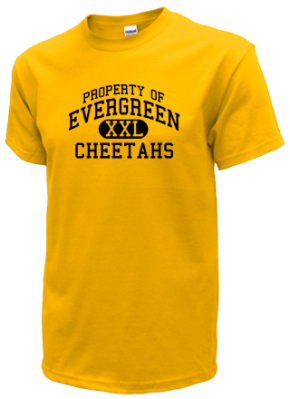 Evergreen Elementary School Kid T-Shirts