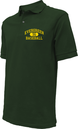 Evergreen High School Embroidered Polo Shirts