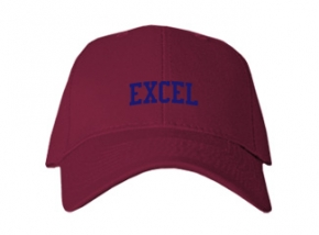 Excel High School Kid Embroidered Baseball Caps