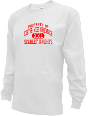 Exeter-west Greenwich High School Kid Long Sleeve Shirts