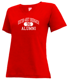 Exeter-west Greenwich High School V-neck Shirts