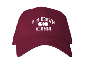F N Brown Elementary School Embroidered Baseball Caps