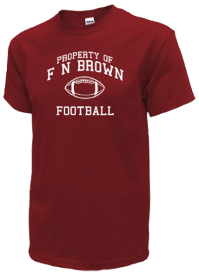 F N Brown Elementary School Kid T-Shirts