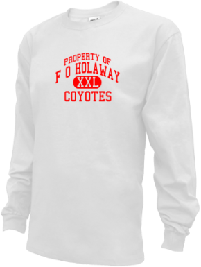 F O Holaway Elementary School Kid Long Sleeve Shirts
