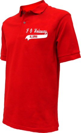 F O Holaway Elementary School Embroidered Polo Shirts