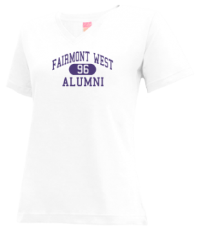 Fairmont West 63-83 High School V-neck Shirts