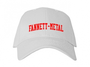 Fannett-metal High School Kid Embroidered Baseball Caps