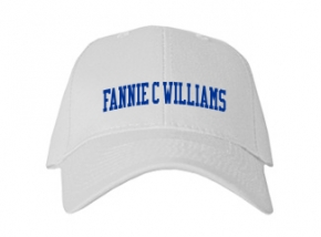Fannie C Williams Middle School Kid Embroidered Baseball Caps