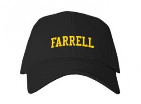 Farrell High School Kid Embroidered Baseball Caps