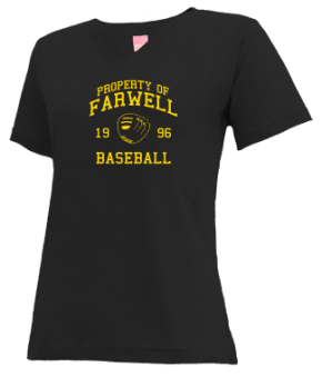 Farwell High School V-neck Shirts