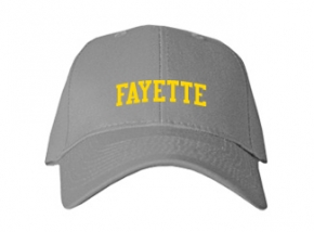 Fayette High School Kid Embroidered Baseball Caps