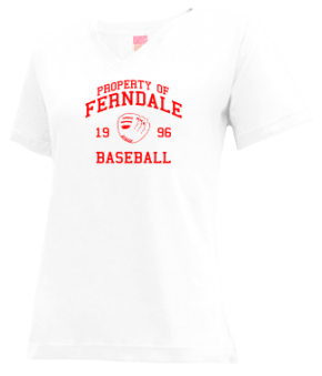 Ferndale High School V-neck Shirts