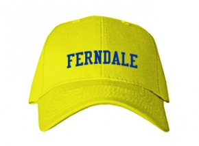 Ferndale Middle School Kid Embroidered Baseball Caps