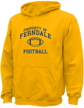 Ferndale Middle School Kid Hooded Sweatshirts