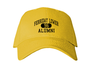 Ferriday Lower Elementary School Embroidered Baseball Caps