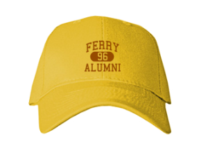 Ferry Elementary School Embroidered Baseball Caps